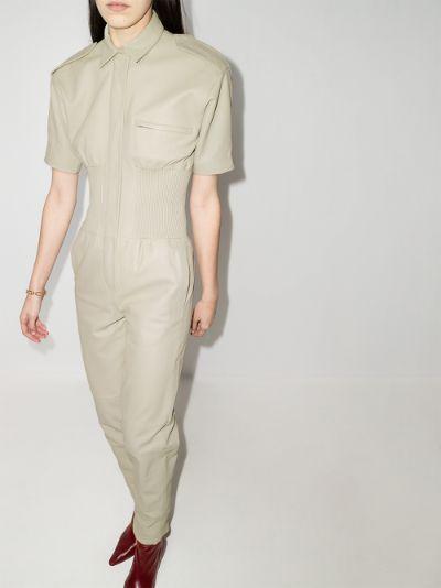 marianne leather jumpsuit