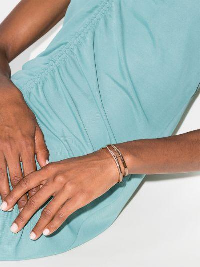 18K rose gold Antifer diamond bracelet