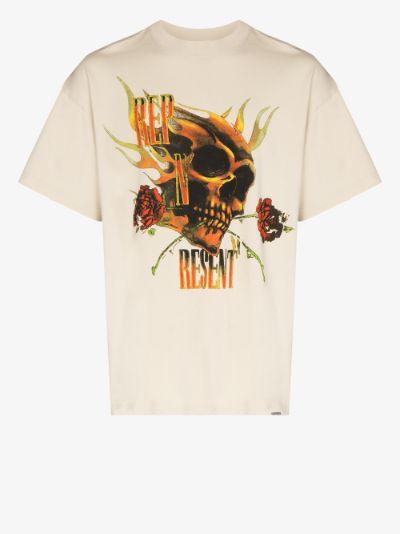 Rep N Resent Print T-shirt