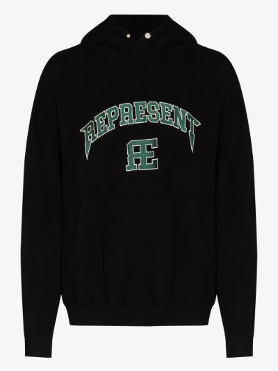 varsity logo hoodie
