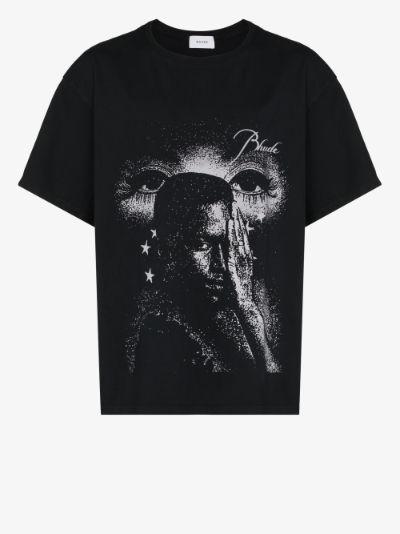 Beauty print cotton T-shirt