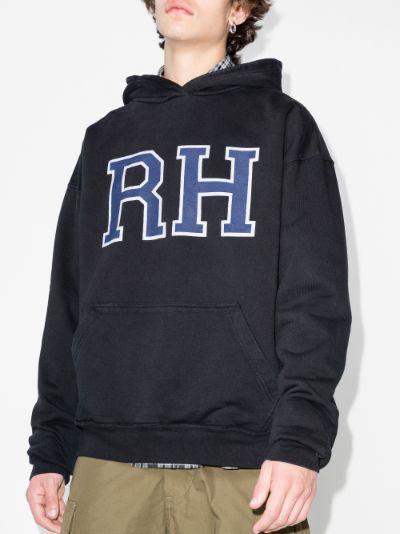 Fleur Market printed hoodie