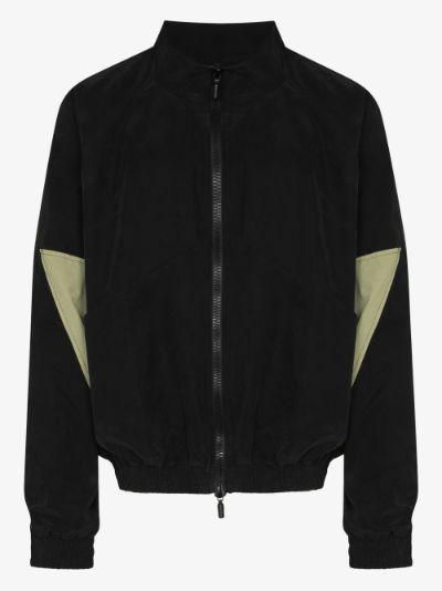Yachting panelled cotton jacket