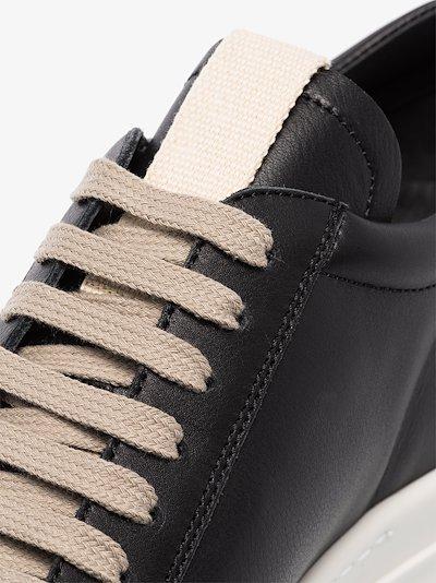 black Performa Low leather sneakers