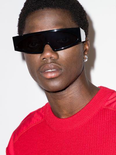 black Tecuatl futuristic sunglasses