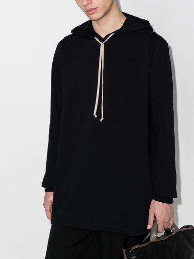 Classic longline hoodie