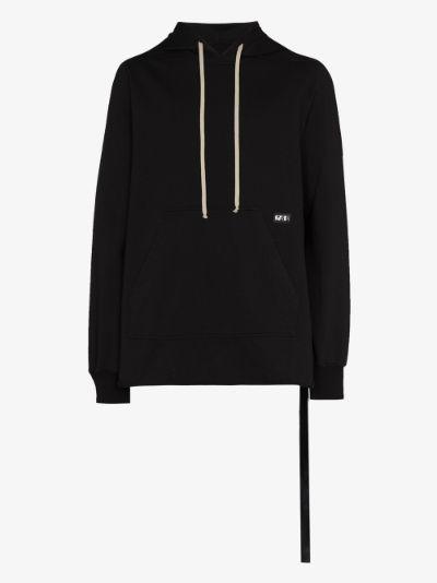 Poncho cotton hoodie