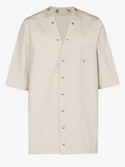 Faun press stud shirt