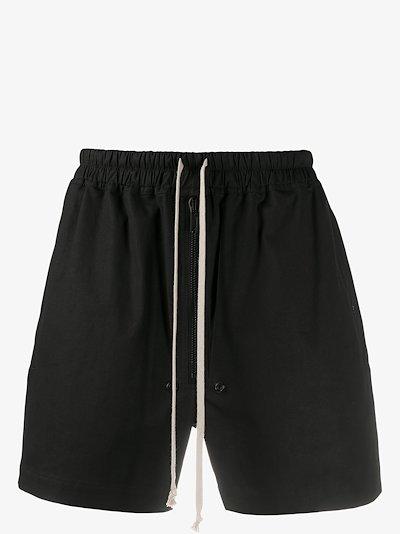 long drawstring shorts