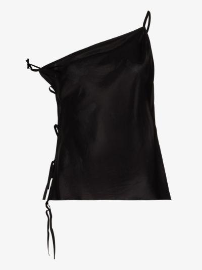 Taco asymmetric camisole top