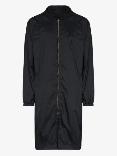 X Champion hooded parka jacket