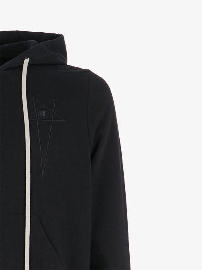 X Champion Jason star logo hoodie