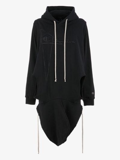 X Champion Banana cotton hoodie