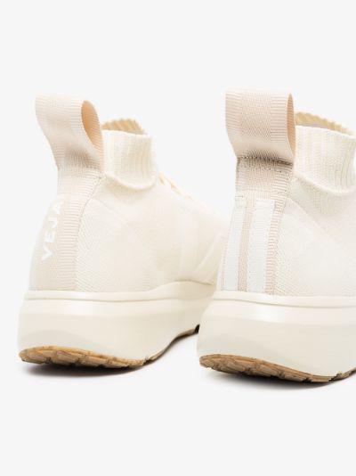 X Veja white sock sneakers