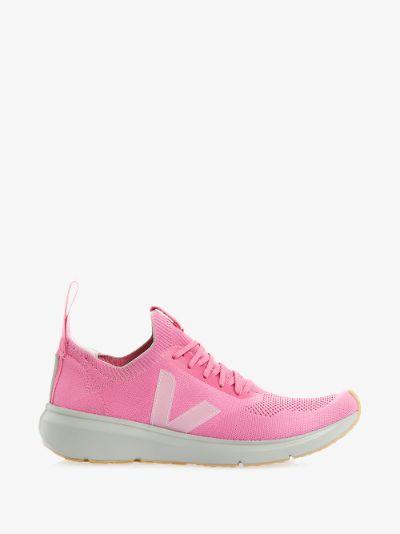 X Veja pink V-Knit sneakers