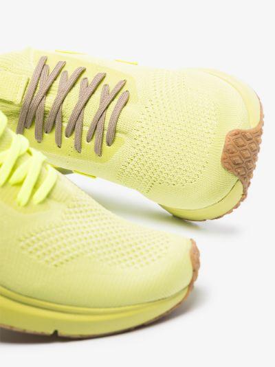 X Veja yellow sock sneakers