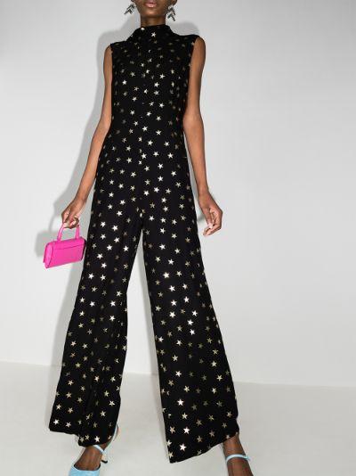 Frankie sleeveless star print jumpsuit