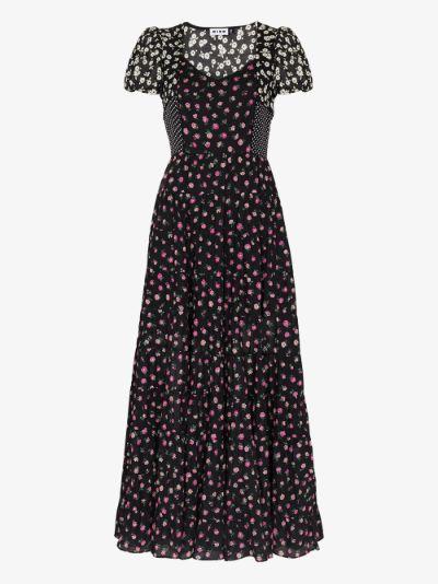 Tamara mix print dress