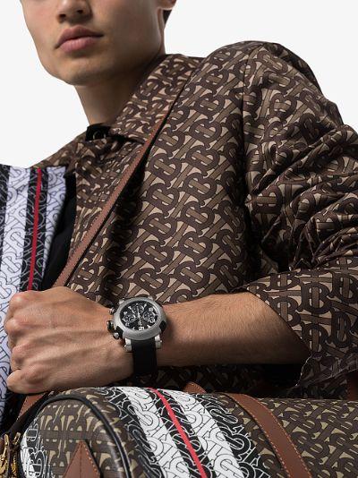 black Arraw Chronograph Watch
