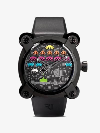 black Moon Invader Space Invaders Pop Watch