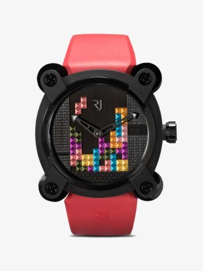 red Tetris watch