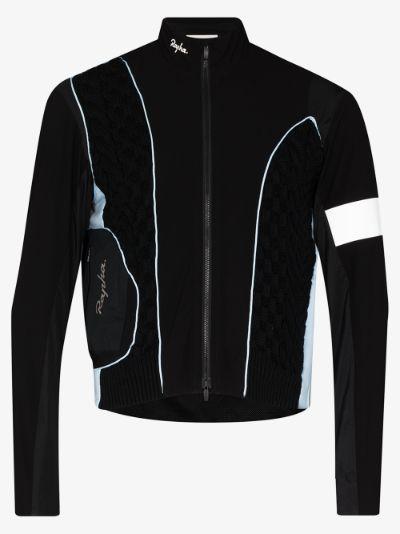 X Rapha panelled jacket
