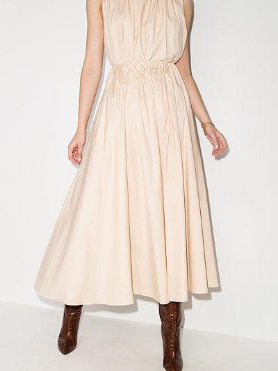 Allegra cotton midi skirt