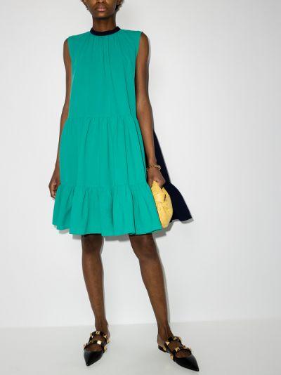 Athisa two tone mini dress