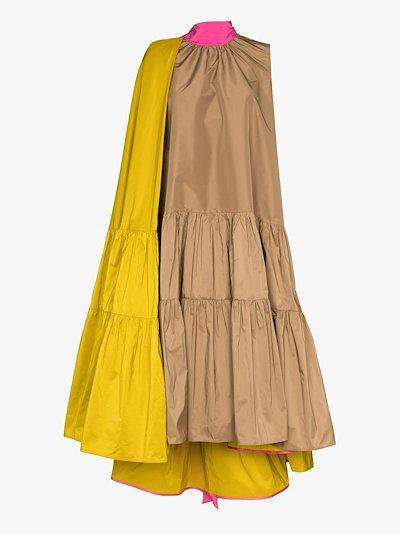 Ludmila sleeveless tiered dress