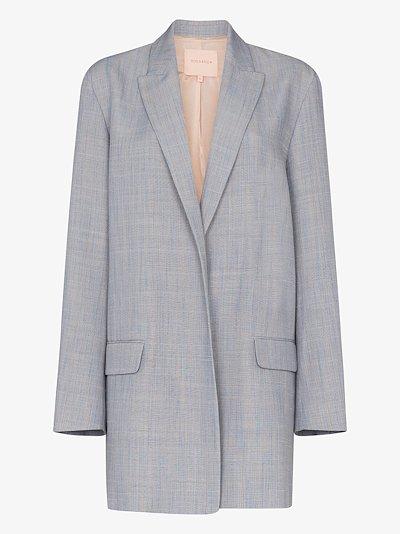 Shida oversized single-breasted blazer