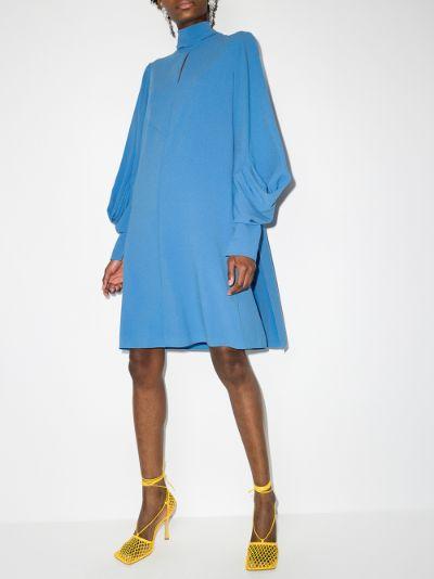 Vittoria high neck mini dress
