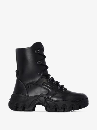black Boccaccio II lace-up boots