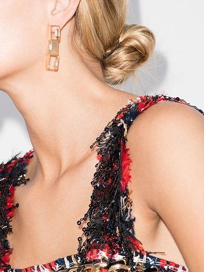 Eleonor crystal embellished earrings