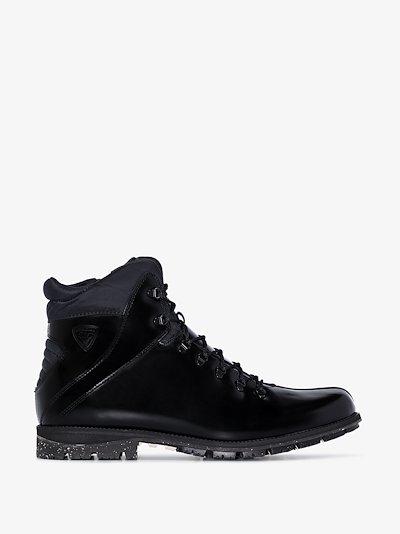 Black 1907 Chamonix leather hiking boots