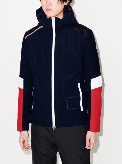 blue Supercorde ski jacket