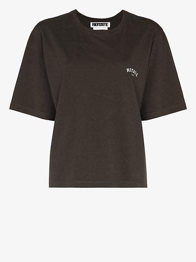 Sunday Aster logo print T-shirt