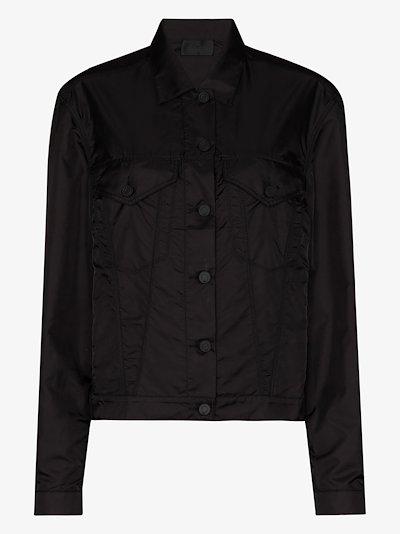 Erika buttoned boyfriend jacket