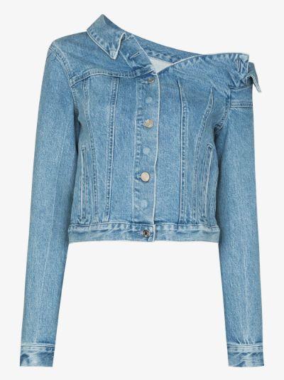 Rebecca Asymmetric Denim Jacket