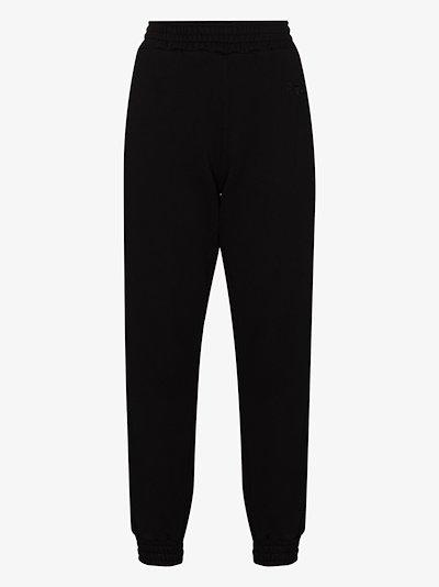 Sydney straight leg cotton track pants