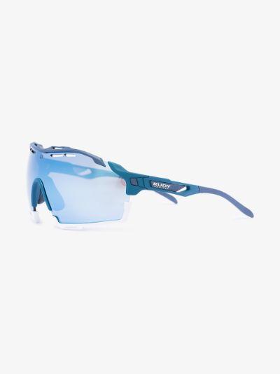 blue cutline multilaser ice sunglasses