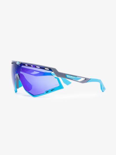 blue defender optics multilaser sunglasses
