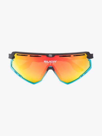multicoloured Defender Bahrain McLaren sunglasses