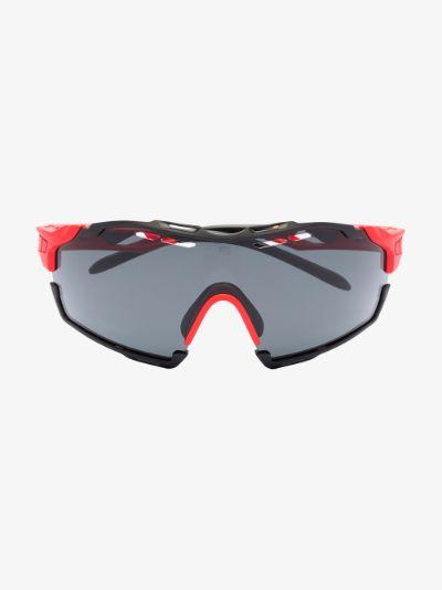 red cutline optics smoke sunglasses