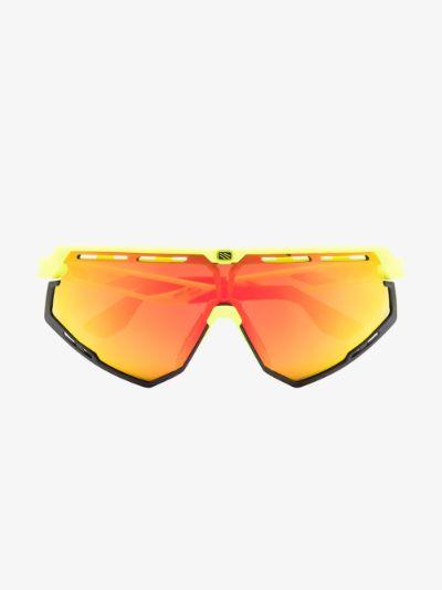 yellow and orange defender optics multilaser sunglasses