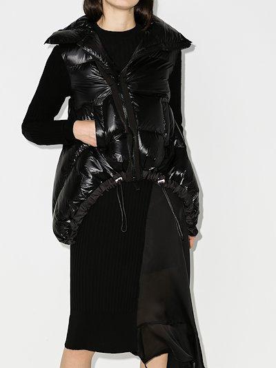 asymmetric puffer jacket