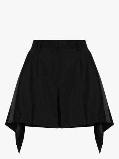 Handkerchief Hem Shorts