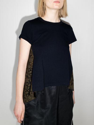 lace back T-shirt
