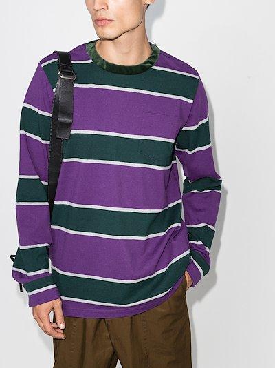 striped long sleeve T-shirt