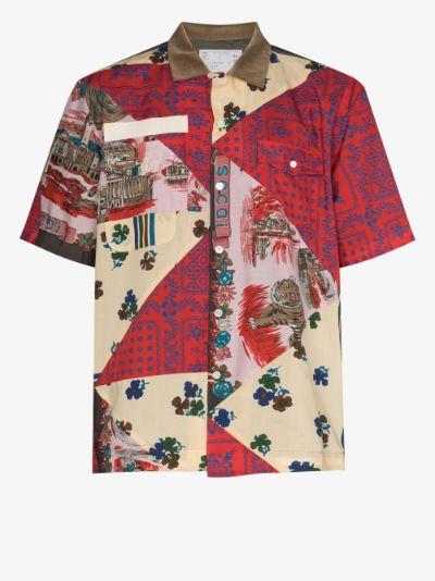 X Hank Willis Thomas archive print shirt