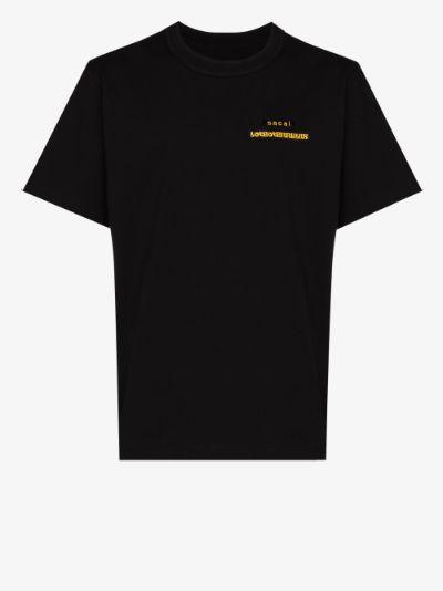 X Hank Willis Thomas logo print T-shirt